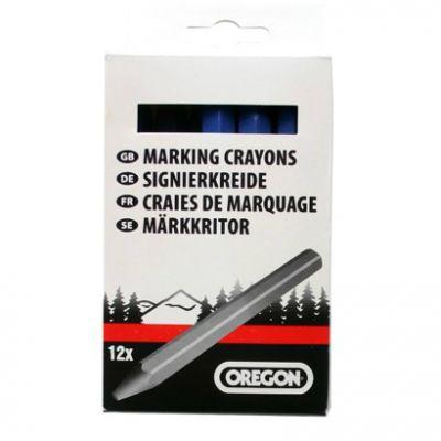 Мелки маркировочные Oregon (12 шт.в упаковке) черные 295365