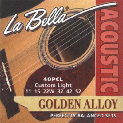Струны La Bella 40PCL