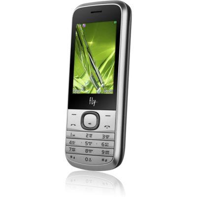 Телефон Fly DS129 Silver