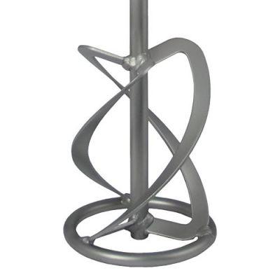 Практика Насадка для перемешивания хвостовик М14, 160 х 600 мм, гипс, цемент, клей д/плитки 779-486
