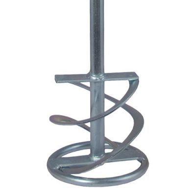 Насадка для перемешивания Практика хвостовик НЕХ 10, 120 х 600, гипс, клей д/плитки 779-516