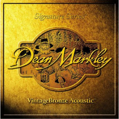Струны Dean Markley VINTAGE BRONZE ACOUSTIC 2002 (85/15) LT