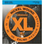 Струны D'Addario EXL160