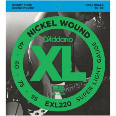 Струны D'Addario EXL220