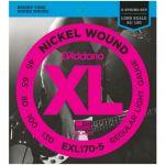 Струны D'Addario EXL170-5