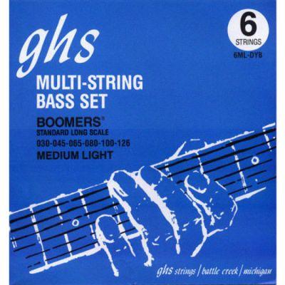 Струны GHS 6ML-DYB