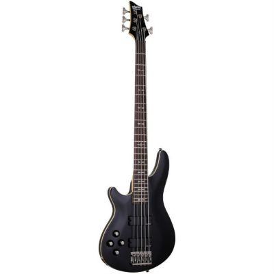 Бас-гитара Schecter Guitar OMEN-5 BLK L/H