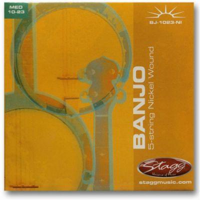 Струны Stagg для банджо BJ-1023-NI