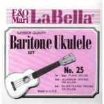 Струны La Bella для укулеле баритон UKULELE 25