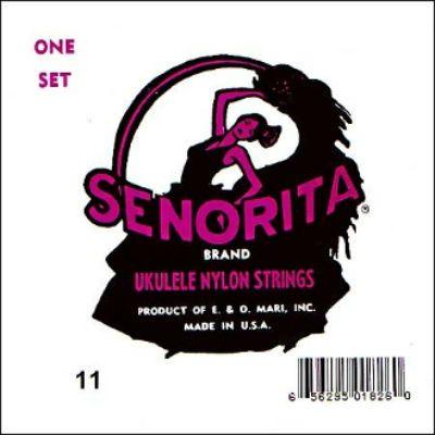 Струны La Bella для укулеле баритон (сопрано) UKULELE 11
