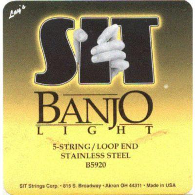 Струны SIT для 5-струнного банджо B5920