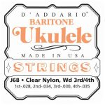 Струны D'Addario для укулеле баритон J68