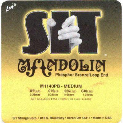 Струны SIT для мандолины M1140PB
