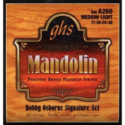 Струны GHS для мандолины A260
