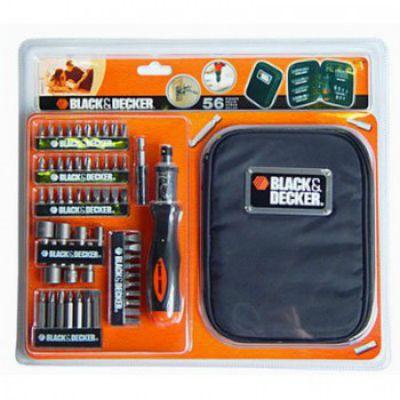 Набор Black & Decker отверточный A7104 56 шт 717100
