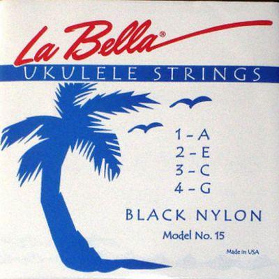 Струны La Bella для укулеле UKULELE 15-BLACK