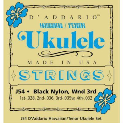 Струны D'Addario для укулеле тенор J54
