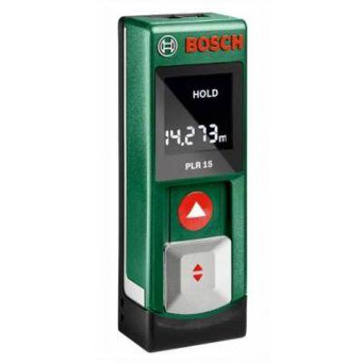Дальномер Bosch лазерный PLR 15 893392 0603672021