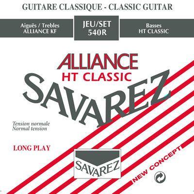 Струны Savarez 540R Alliance Red standard tension