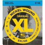 Струны D'Addario EXL125