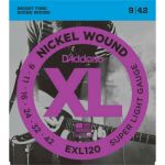 Струны D'Addario EXL120