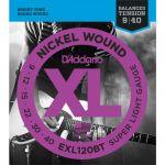 Струны D'Addario EXL120BT