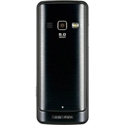 Телефон Samsung GT-S5610 Black GT-S5610ZKASER