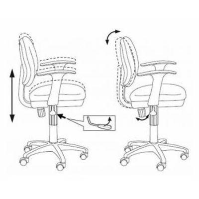 Офисное кресло Бюрократ офисное CH-G318AXN/15-13/Grey