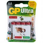Батарейки GP Ultra 15AUGL-2CR4 AA 4шт