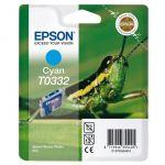Картридж Epson TO332 Cyan/Голубой (C13T03324010)