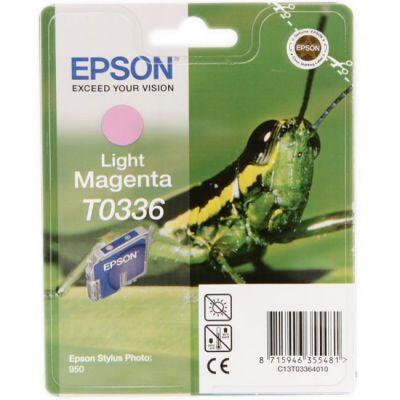 Картридж Epson TO336 Light magenta/Светло-пурпурный (C13T03364010)