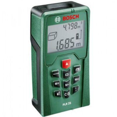 Дальномер Bosch лазерный PLR 25 621404 0603016220