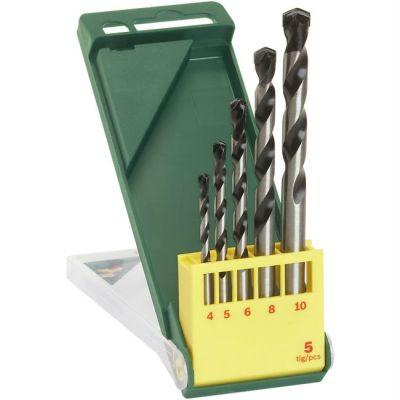 Набор Bosch для сверления по бетону 4, 5, 6, 8, 10 мм (5 шт.) кассета 2607019444