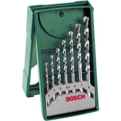 Набор Bosch для сверления по камню (7 шт.) кассета 2607019581