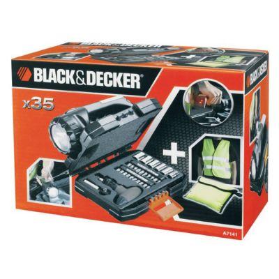 Набор Black & Decker A7141 (35 шт.) + фонарь 695169
