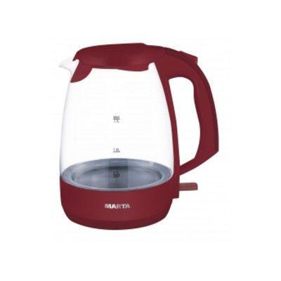 Электрический чайник Marta MT-1053 burgundy