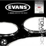 Пластик Evans набор ETP-EC2SCLR-R