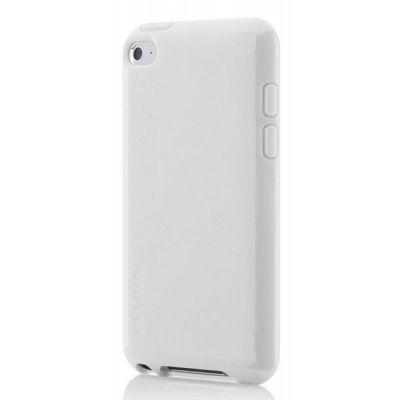 Чехол Belkin для Apple iPod touch 4G Grip Vue Metallic белый F8Z658cwC01