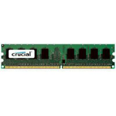 Оперативная память Crucial 2GB DDR2 800MHz (PC2-6400) CL6 Unbuffered ECC UDIMM 240pin CT25672AA80E
