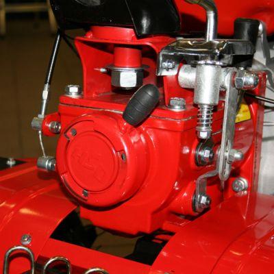 Мотоблок DDE V 900 II (Минотавр, 9,0 л.с., шир.обр.=1,1м, КПП, скорости 2/0/-1, КОЛЁСА 5,0-12) TG-900-9
