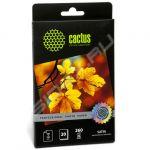 Расходный материал Cactus Фотобумага сатиновая 10х15 (20 листов) CS-SMA626020