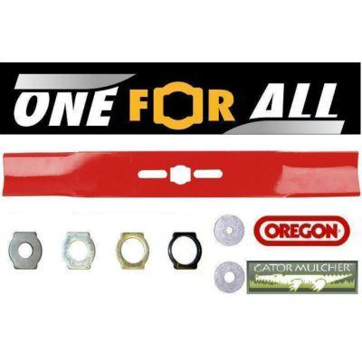 """Oregon Нож для газонокосилки 18"""" с набором колец 69-258"""