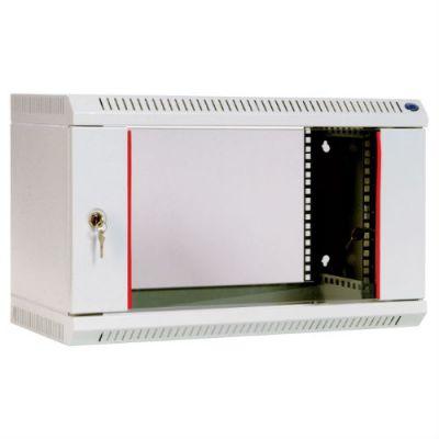 Шкаф ЦМО телекоммуникационный настенный 6U (600х650) дверь стекло ШРН-6.650