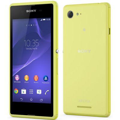 Смартфон Sony Xperia E3 D2203Lime 1288-4189