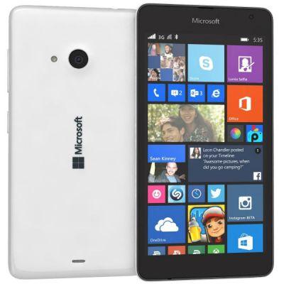 Смартфон Nokia Lumia 535 Dual Sim White A00021946 A00024261