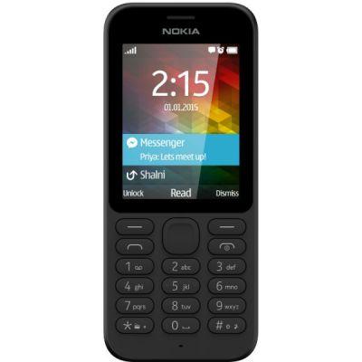 Телефон Nokia 215 Dual Sim Black A00023561