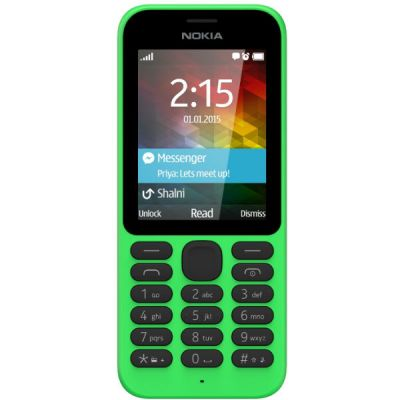 Телефон Nokia 215 Dual Sim Green A00023565