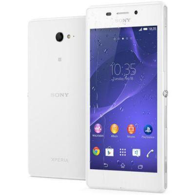 Смартфон Sony Xperia M2 Aqua White D2403White 1288-4192
