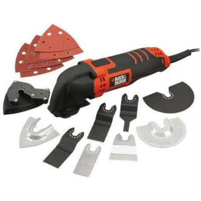 Шлифмашина Black & Decker MT280BA сумка + насадки 961584