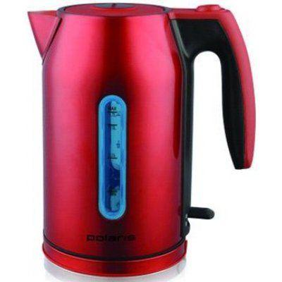Электрический чайник Polaris PWK 1721CAL (красный/черный)